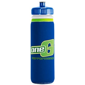 Van Metro Sport Bottle with Push-Pull Cap (22 Oz., Screen Print)