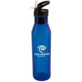 Flip Top Tritan Water Bottle (24 Oz.)