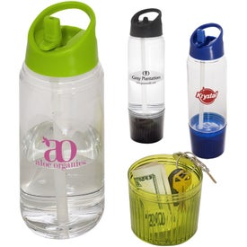 Water Bottle with Detachable Cup (20 Oz.)