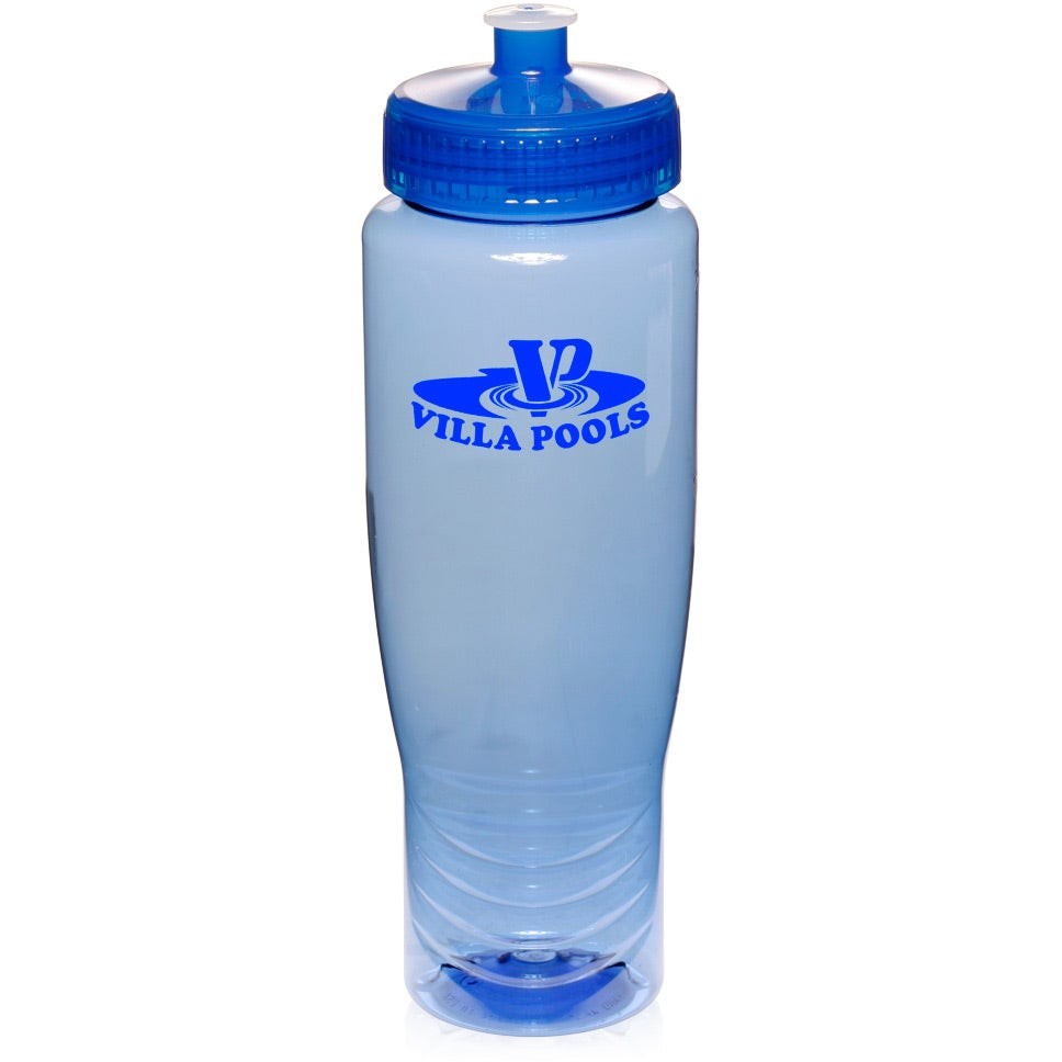 Water Bottle with Ounce Guide (28 Oz.)