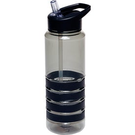 Water Bottle with Straw (24 Oz.)