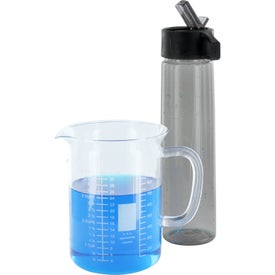 Water Bottle with Straw for Customization