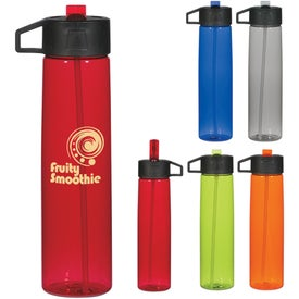 Water Bottle with Straw with Your Logo