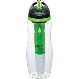Water Filtration BPA Free Sport Bottle Branded with Your Logo
