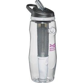 Branded Water Filtration BPA Free Sport Bottle