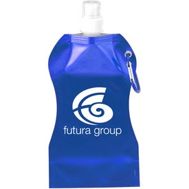 Wave Collapsible Water Bottle (16.9 Oz.)