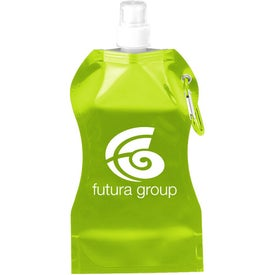 Wave Collapsible Water Bottle for Customization