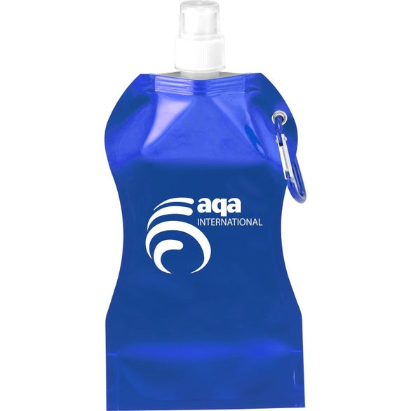 Blue Wave Collapsible Water Bottle