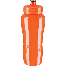 Customized Wave Poly Clean Bottle