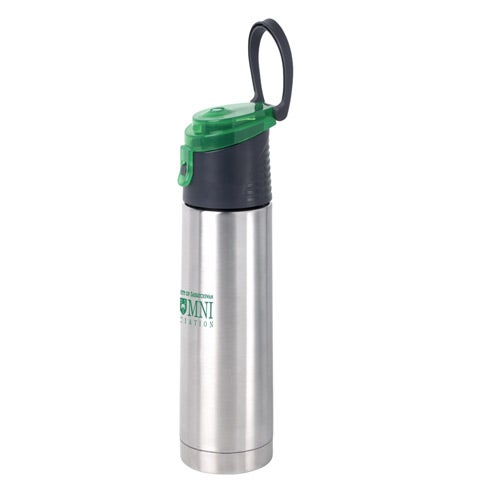 Wedge vacuum water bottle 18 oz personalized water for Floor 9 water bottle