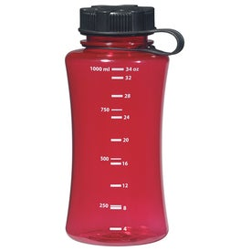 Wide Body Bottle Printed with Your Logo