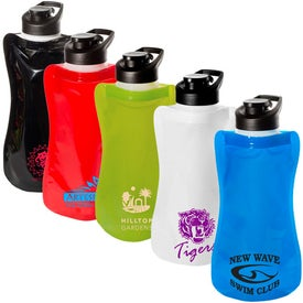 Wide-Mouth Flip-Top Flexi Bottle for Your Organization
