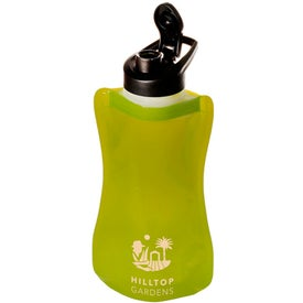 Advertising Wide-Mouth Flip-Top Flexi Bottle