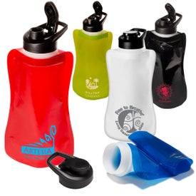 Wide-Mouth Flip-Top Flexi Bottle (32 Oz.)