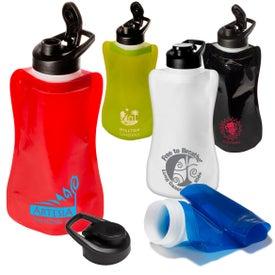 Company Wide-Mouth Flip-Top Flexi Bottle