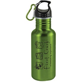 Wide Mouth Stainless Steel Sports Bottle Printed with Your Logo