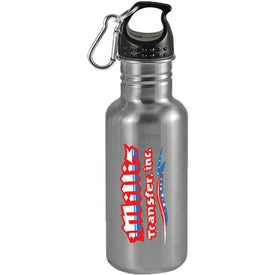 Custom Wide Mouth Stainless Steel Sports Bottle