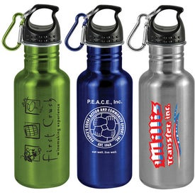 Wide Mouth Stainless Steel Sports Bottle (20 Oz.)