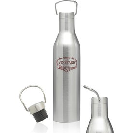 Wine Shaped Water Bottle (25 Oz.)