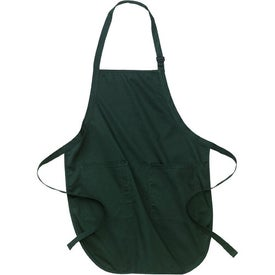 Port Authority Full Length Apron with Pockets for Customization