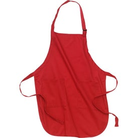 Port Authority Full Length Apron with Pockets for your School