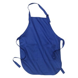 Promotional Port Authority Full Length Apron with Pockets