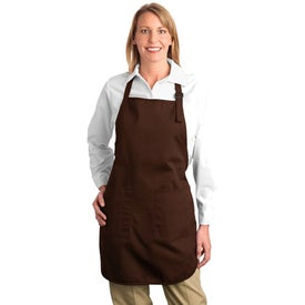 Company Port Authority Full Length Apron with Pockets