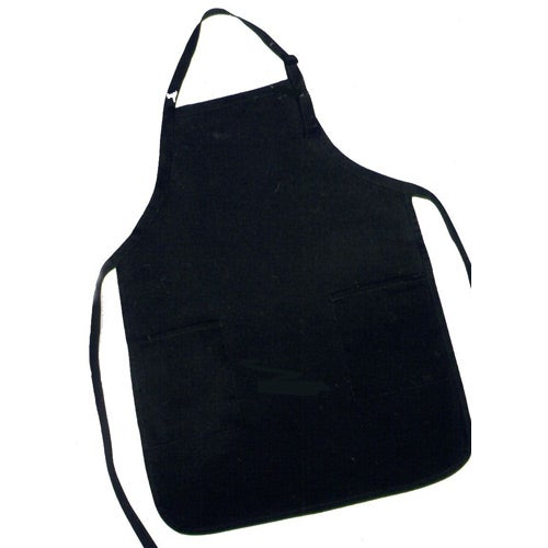 Black Port Authority Full Length Apron with Pockets