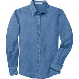 Port Authority Ladies Denim Shirt