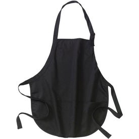 Port Authority Mid-Length Apron with Pouch Pockets for Your Church