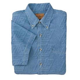 Port Authority Short Sleeve Denim Shirt