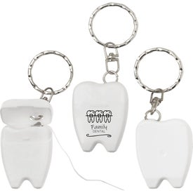 Dental Floss Keytags