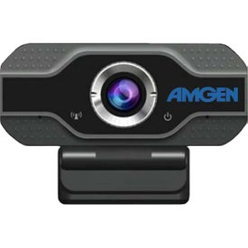iBank Desktop Webcams with Ring Light and Microphone