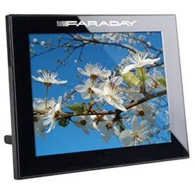 "10"" Black Thin Panel Digital Photo Frame"