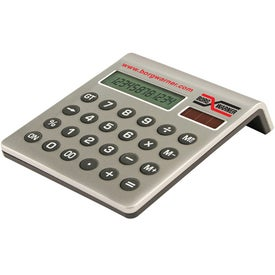 12 Digit Desktop Calculator Branded with Your Logo