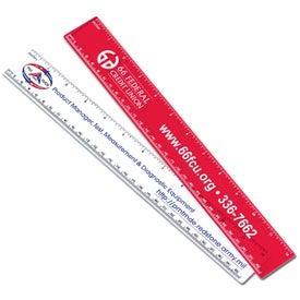 "12"" Promotional Ruler"