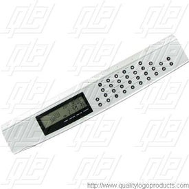 "12"" World Time Calculator Ruler for Your Organization"