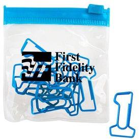 Logo Clips in a Bag