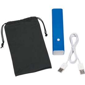 Monogrammed 3 In 1 Speaker, Power Bank, & Phone Stand