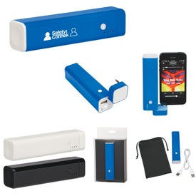 3 In 1 Speaker, Power Bank, & Phone Stand for Your Organization