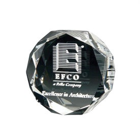 3D Crystal Jewel Paperweight