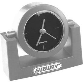 Advertising 3 Hand Swivel Desk Clock
