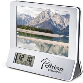 Promotional 3 In 1 Calculator Picture Frame LCD Digital Clock