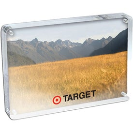 Magnetic Clear Acrylic Photo Frame (3.5 In. x 5 In.)