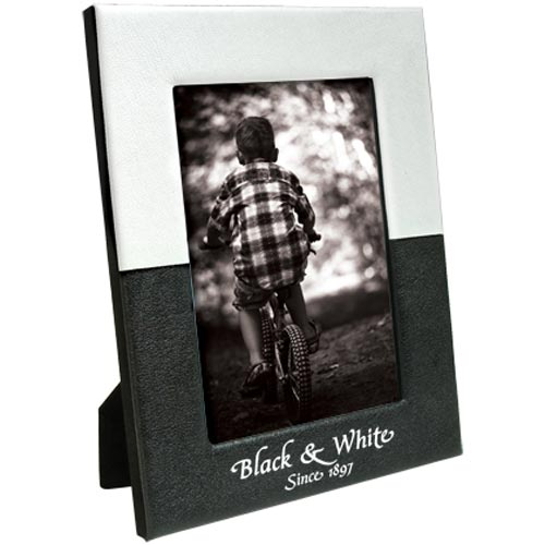 4 x 6 Black and White Frame