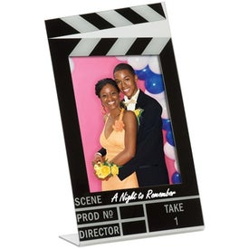 4 x 6 Clapboard Frame Printed with Your Logo