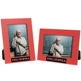 4 x 6 Color Plus Frame with Your Slogan