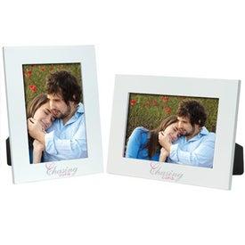 Monogrammed 4 x 6 Color Plus Frame