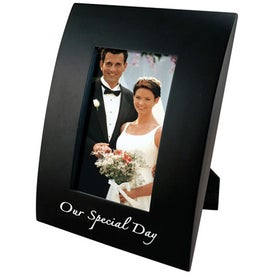 4 x 6 Curved Wood Frame for Marketing