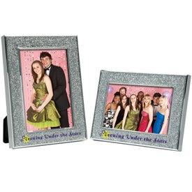 4 x 6 Glitter Frame with Epoxy Finish